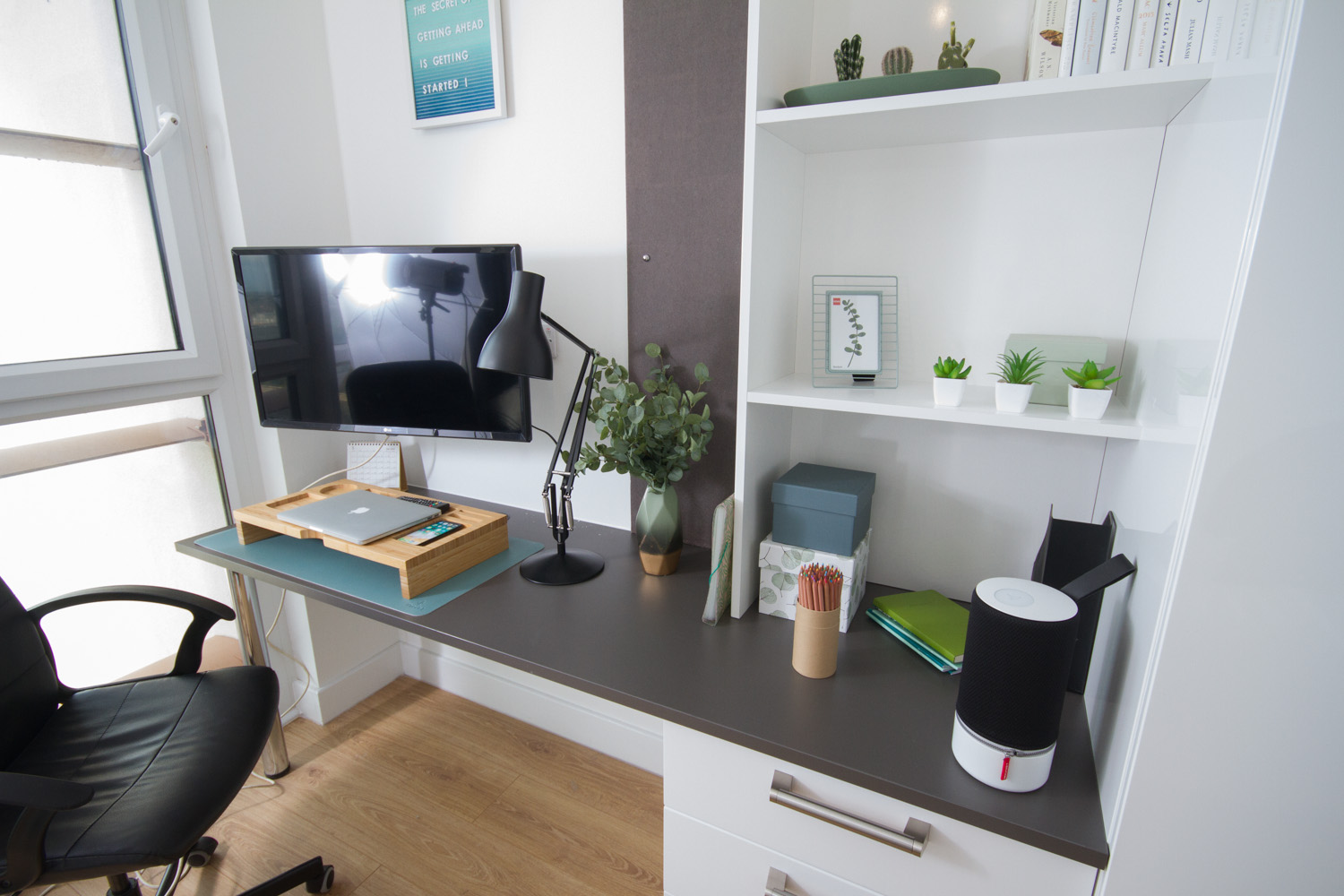 Standard Studio Desk at CODE Student Accommodation Coventry